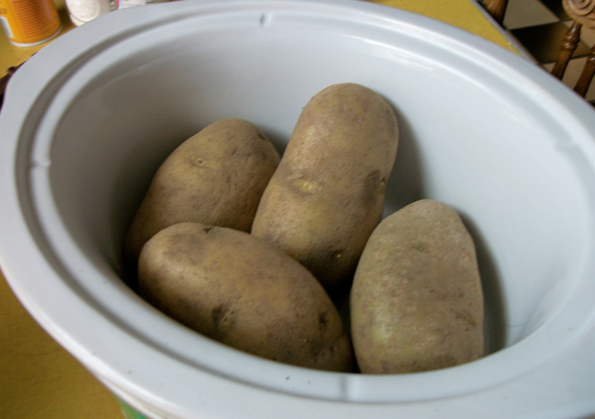 Potatoes can easily be baked of boiled using your Crock-Pot