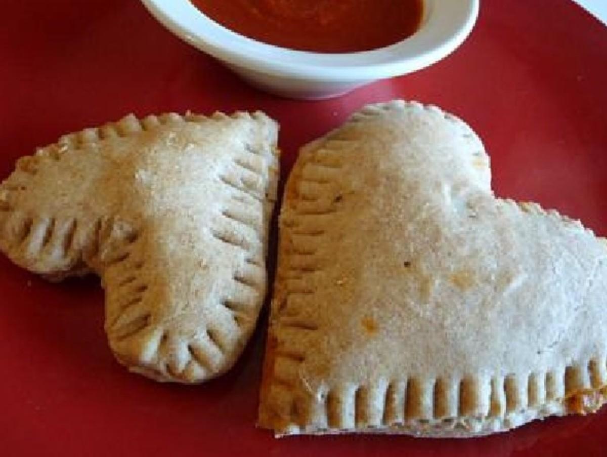 Heart-Shaped Breakfast Sandwiches