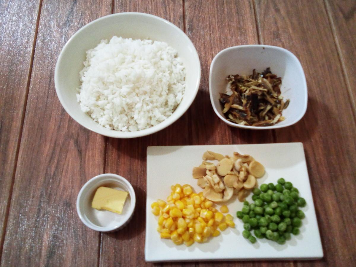 tinapa rice ingredients