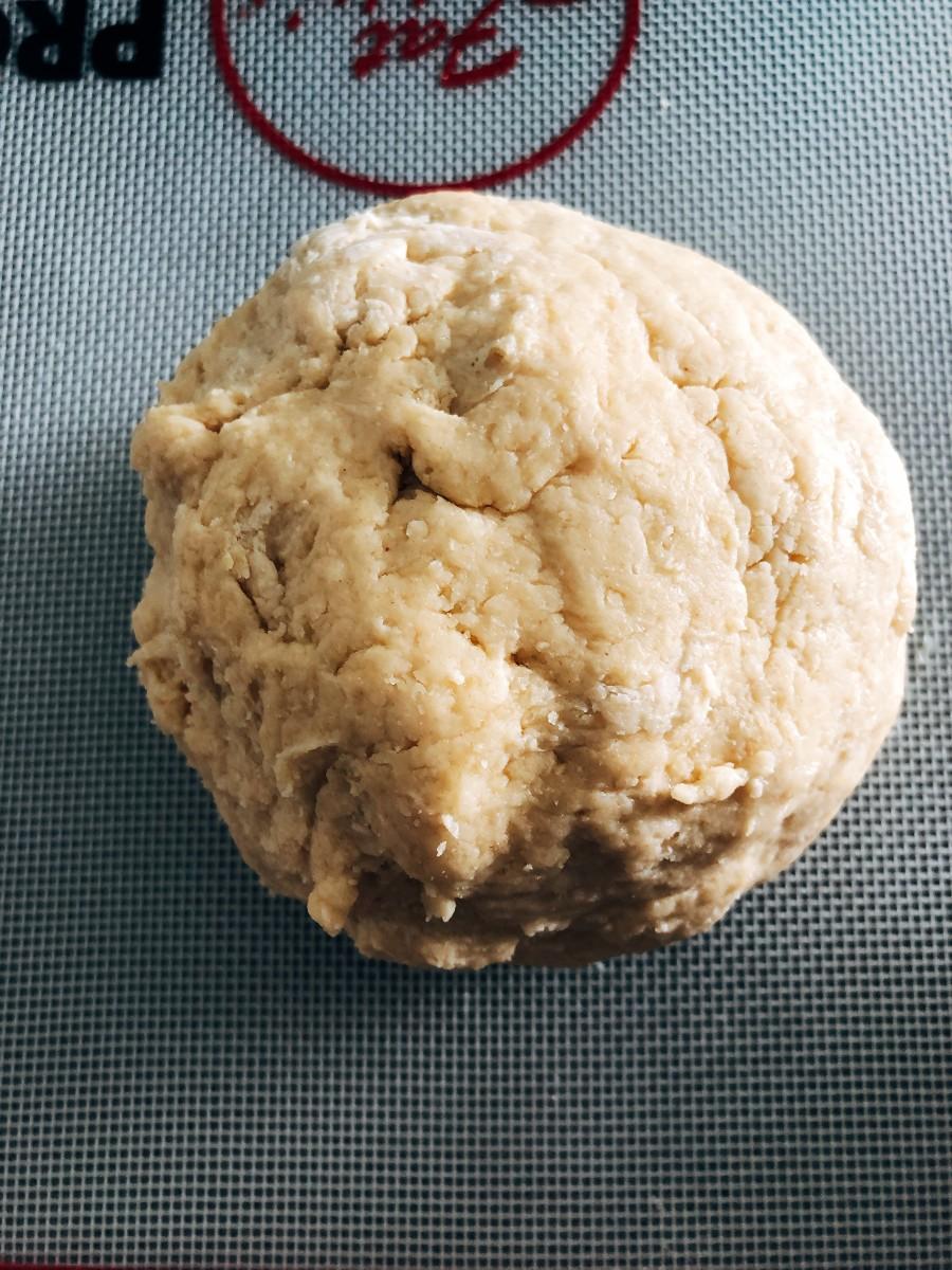 Transfer the dough onto a floured surface.