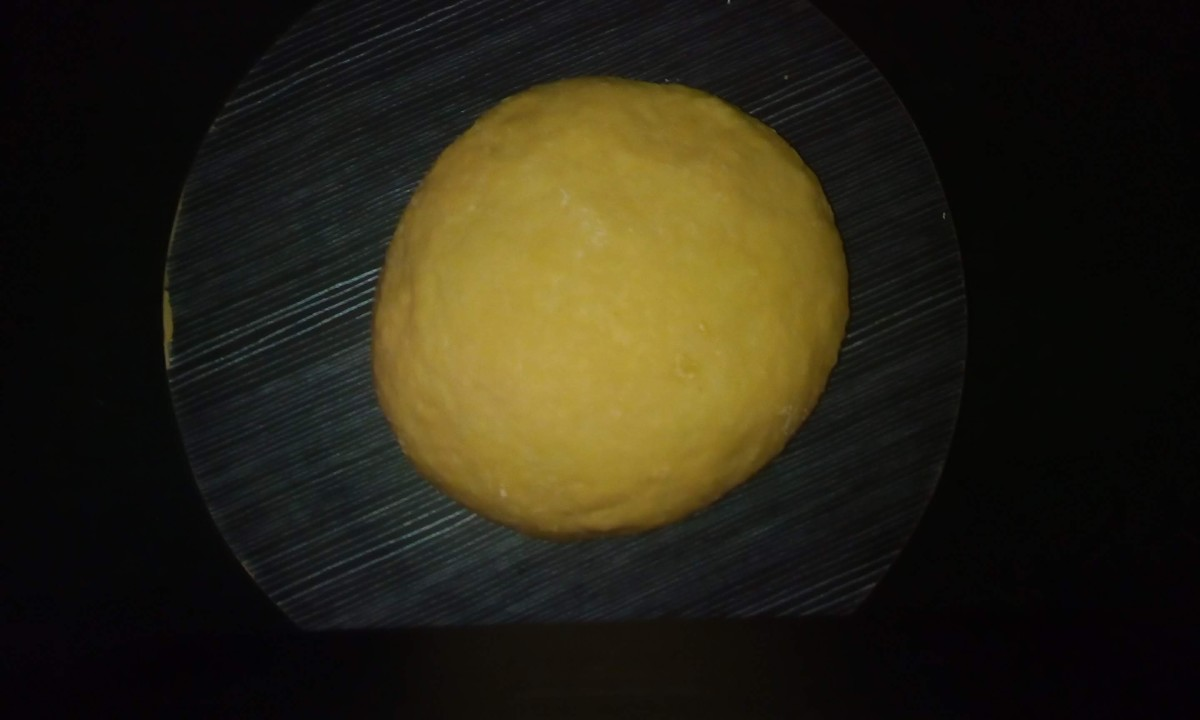 Knead to form a soft dough. Let the dough rest for about 20 minutes.