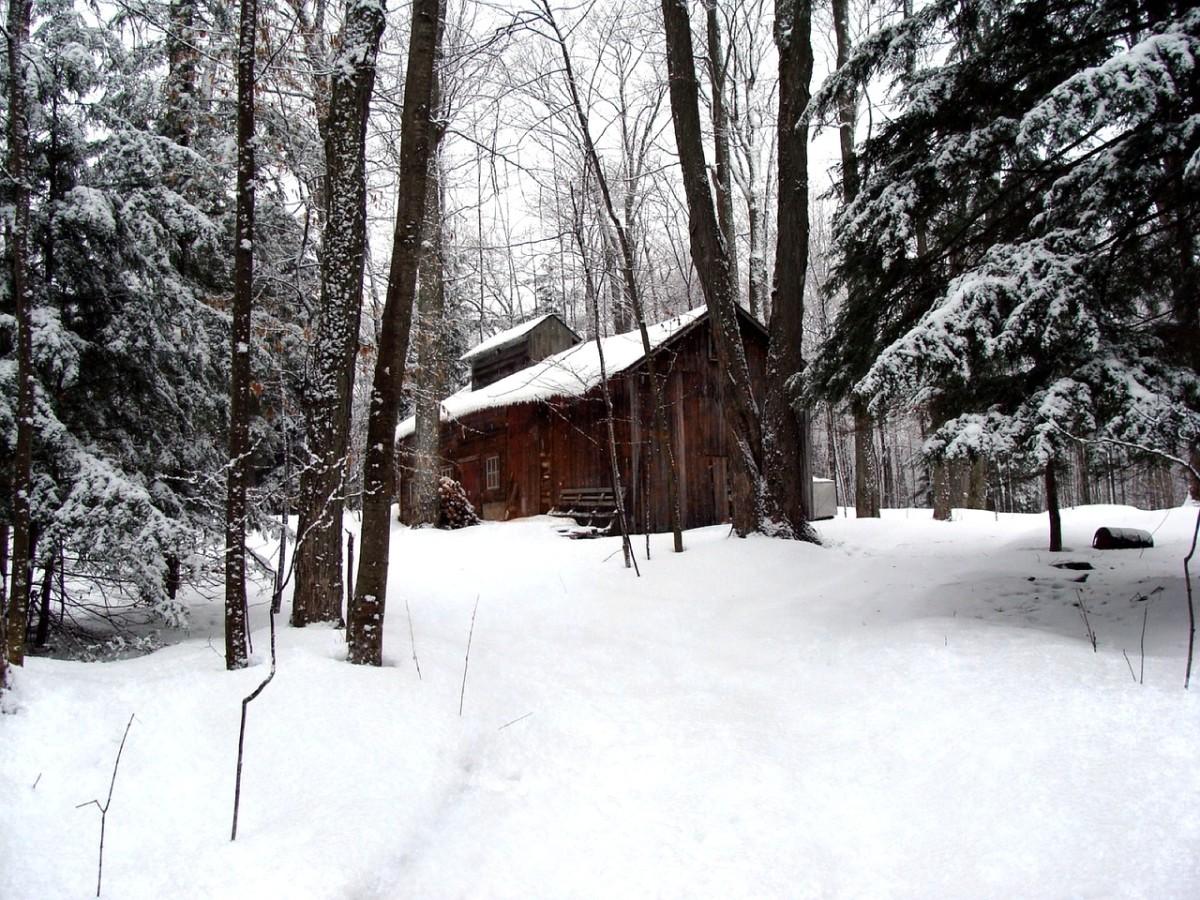 A rural sugar shack