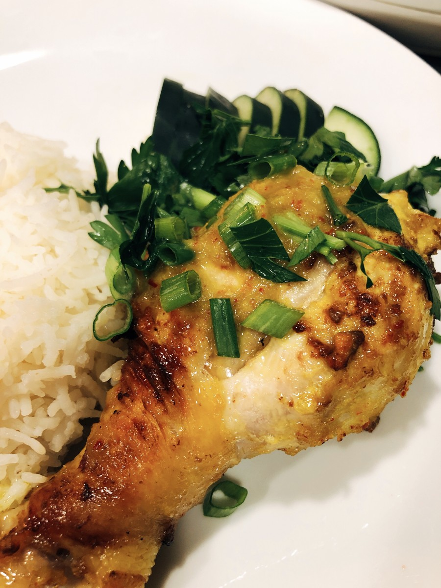 Ayam percik, one of my favorite Malay dishes, uses lemongrass in the marinade.