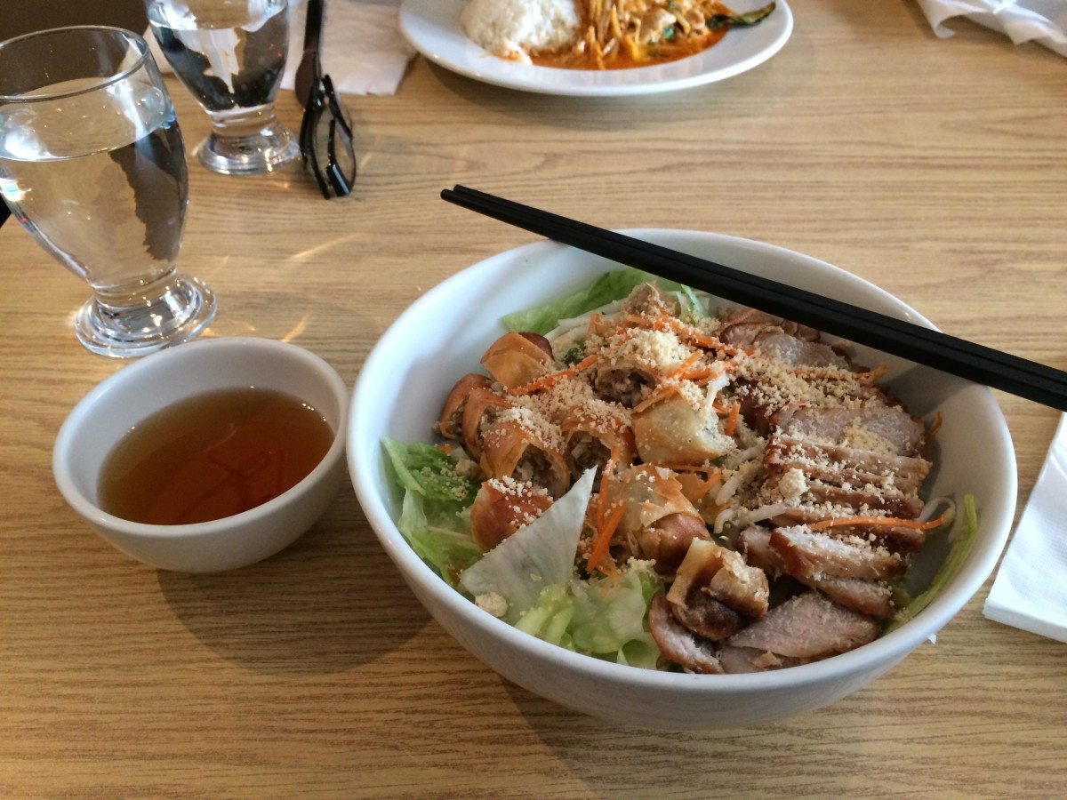 Thai Vermicelli with fish sauce