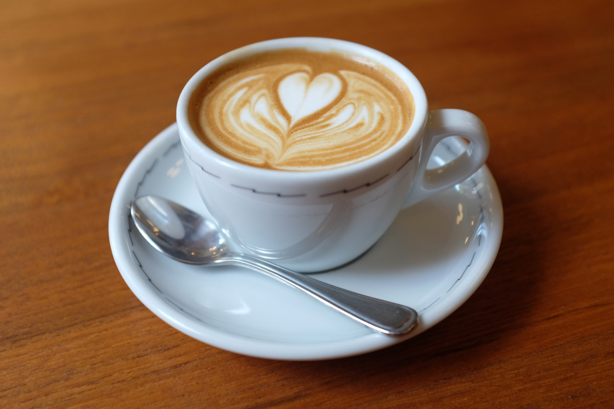 Your cappuccino may not look as visually inspiring as this one, but it can still taste pretty good!