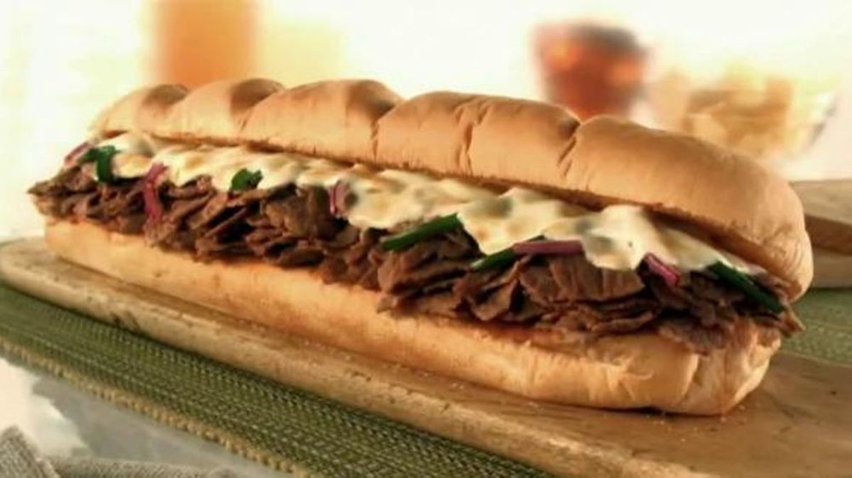 Subway's cheesesteak is actually pretty close to authentic.