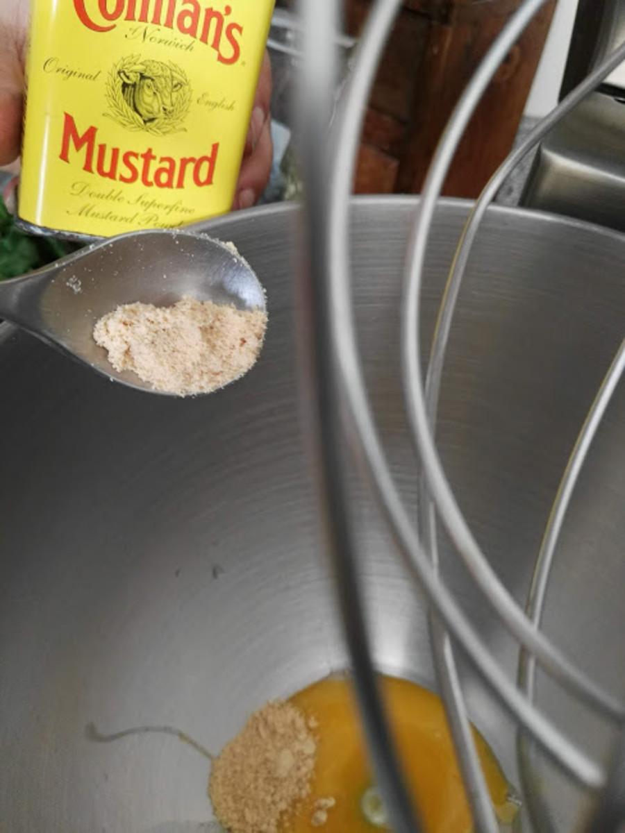 You can use powdered or mustard paste