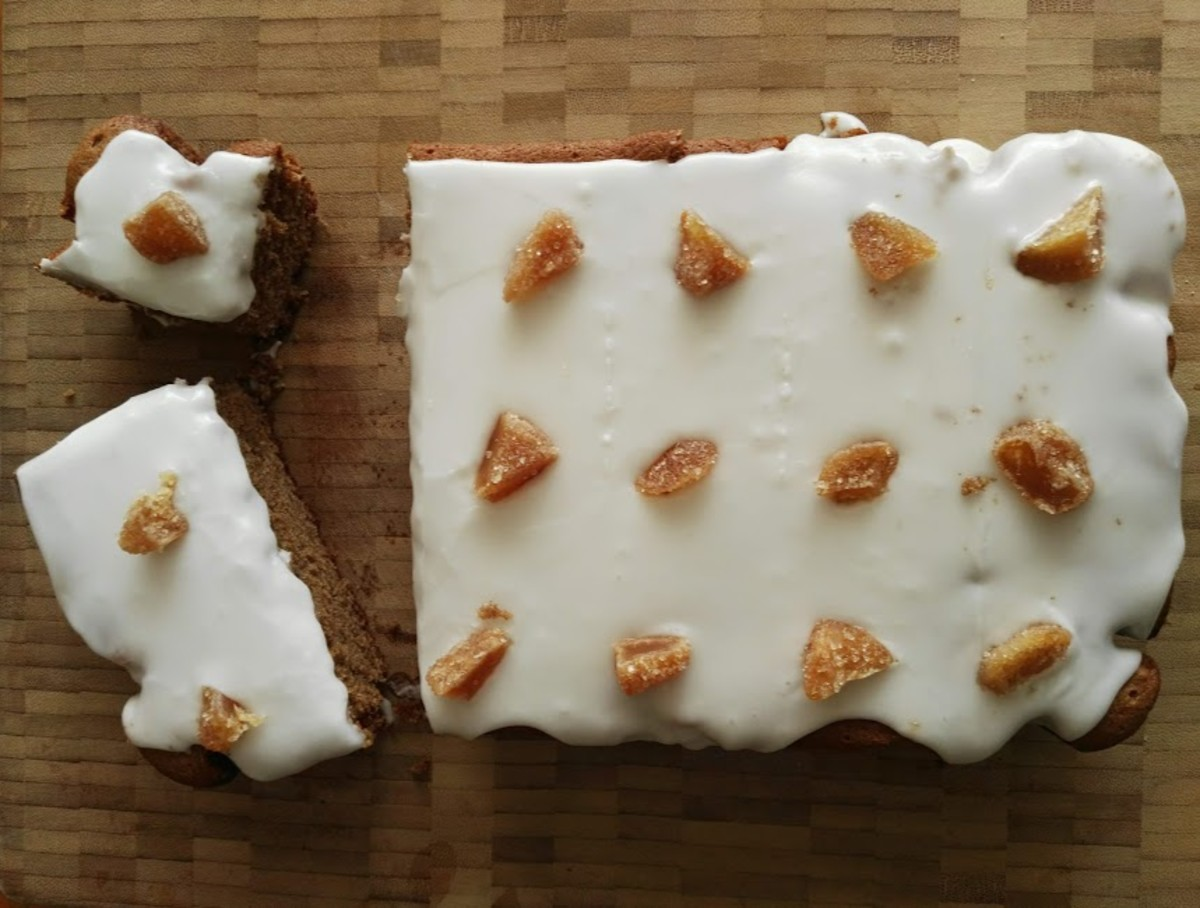 You can cut out 15 squares of cake.