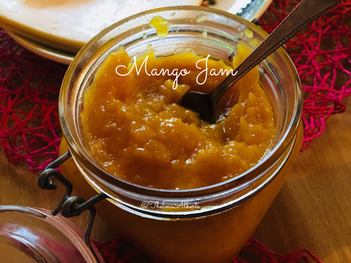 Ready to eat mango Jam.