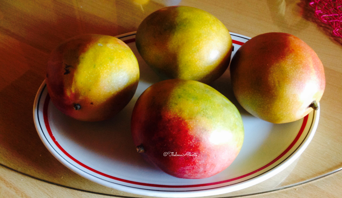 These are the mangoes that I used in making the jam.