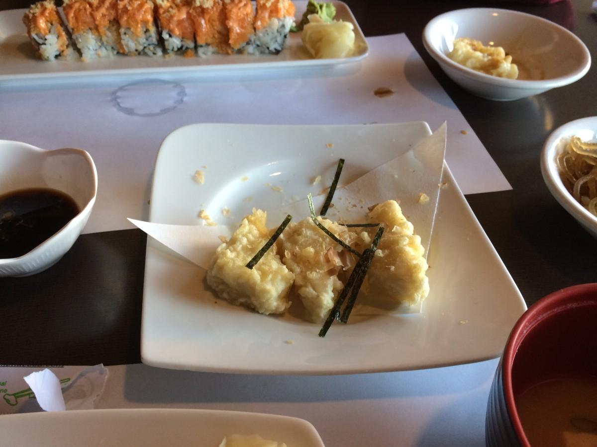 The dashi tofu