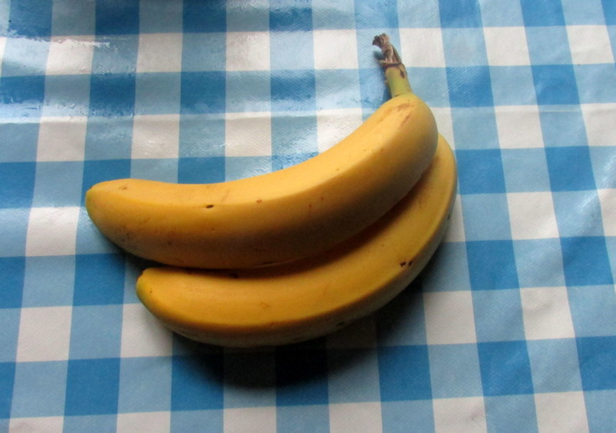 Bananas are very healthy