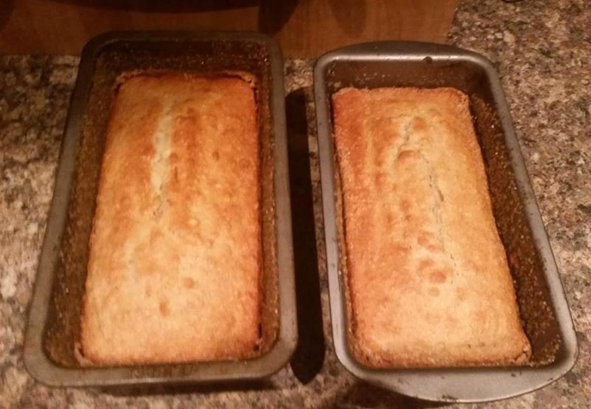 Beautiful baked loaves