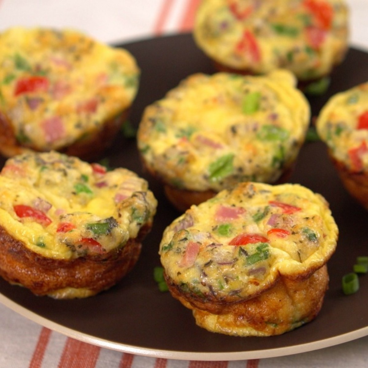 Grab-and-Go Omelettes