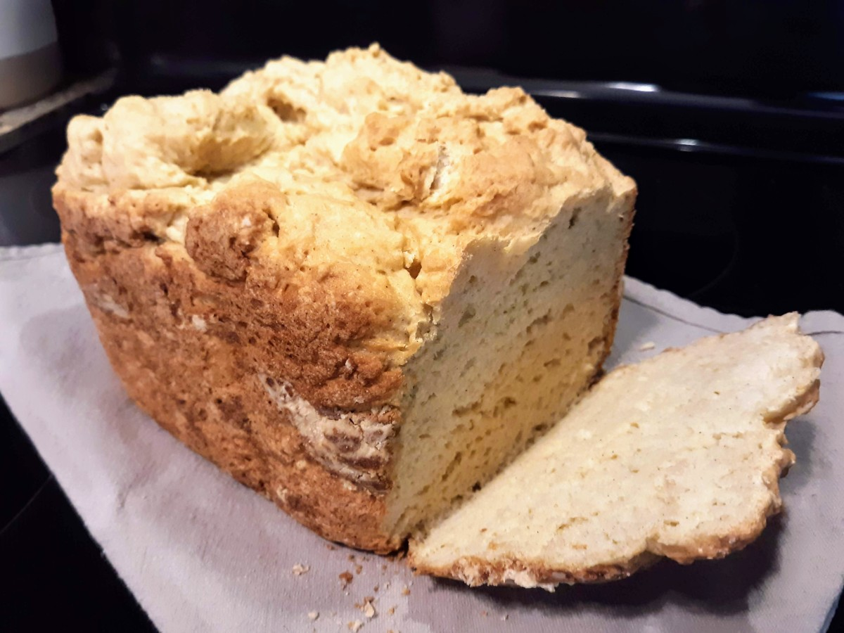 Enjoy a slice of this fluffy, not-too-dense bread.