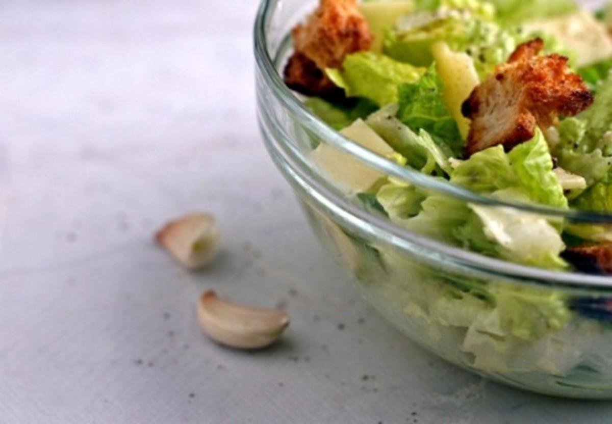 Caesar salads have become a staple of American cuisine.