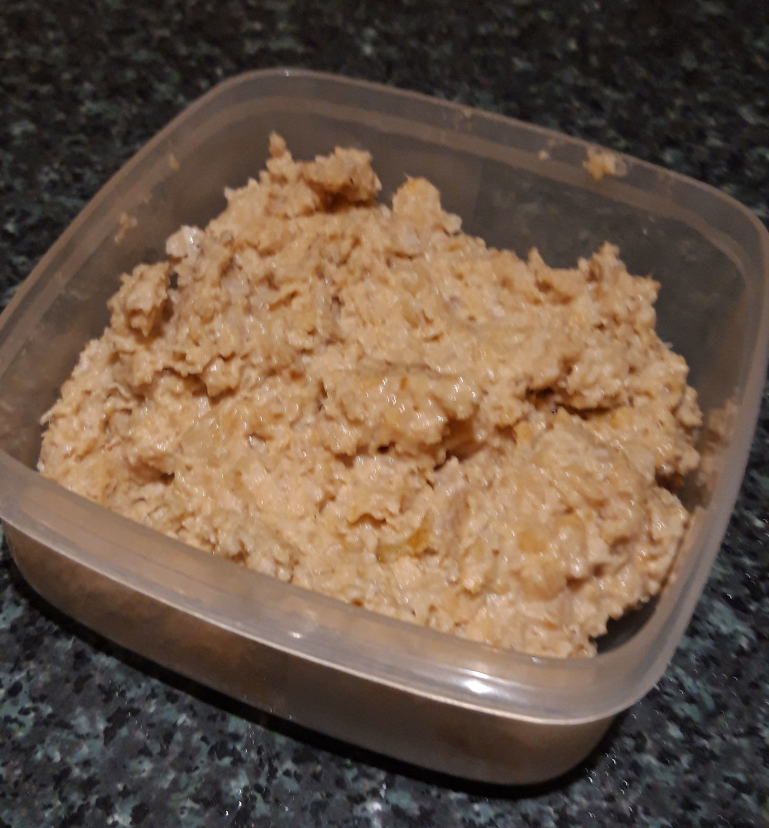 I like my hummus with a slightly lumpy texture. Just blend it a bit longer if you prefer a smoother mixture.