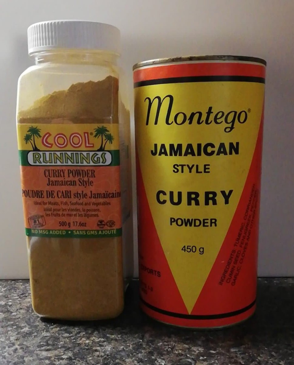Jamaican or Caribbean curry powder