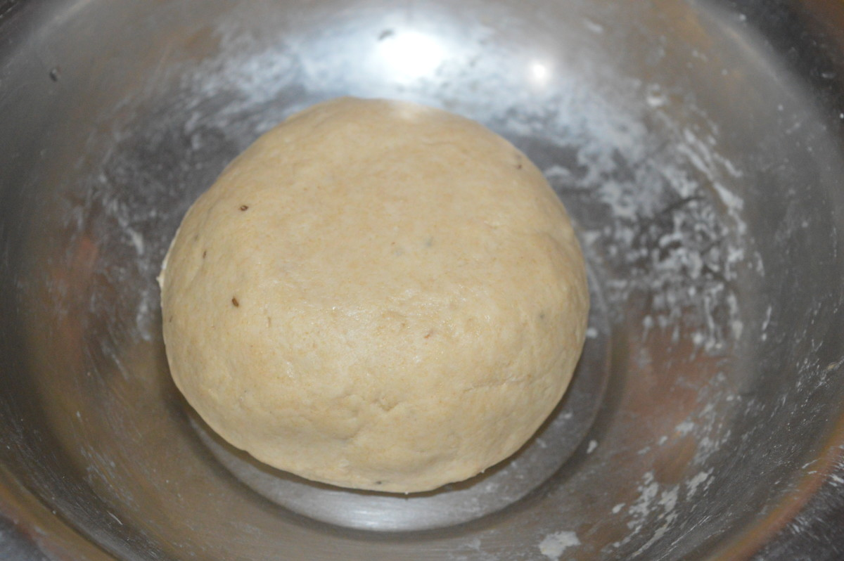 Cover the dough with a moist cloth or a vessel.