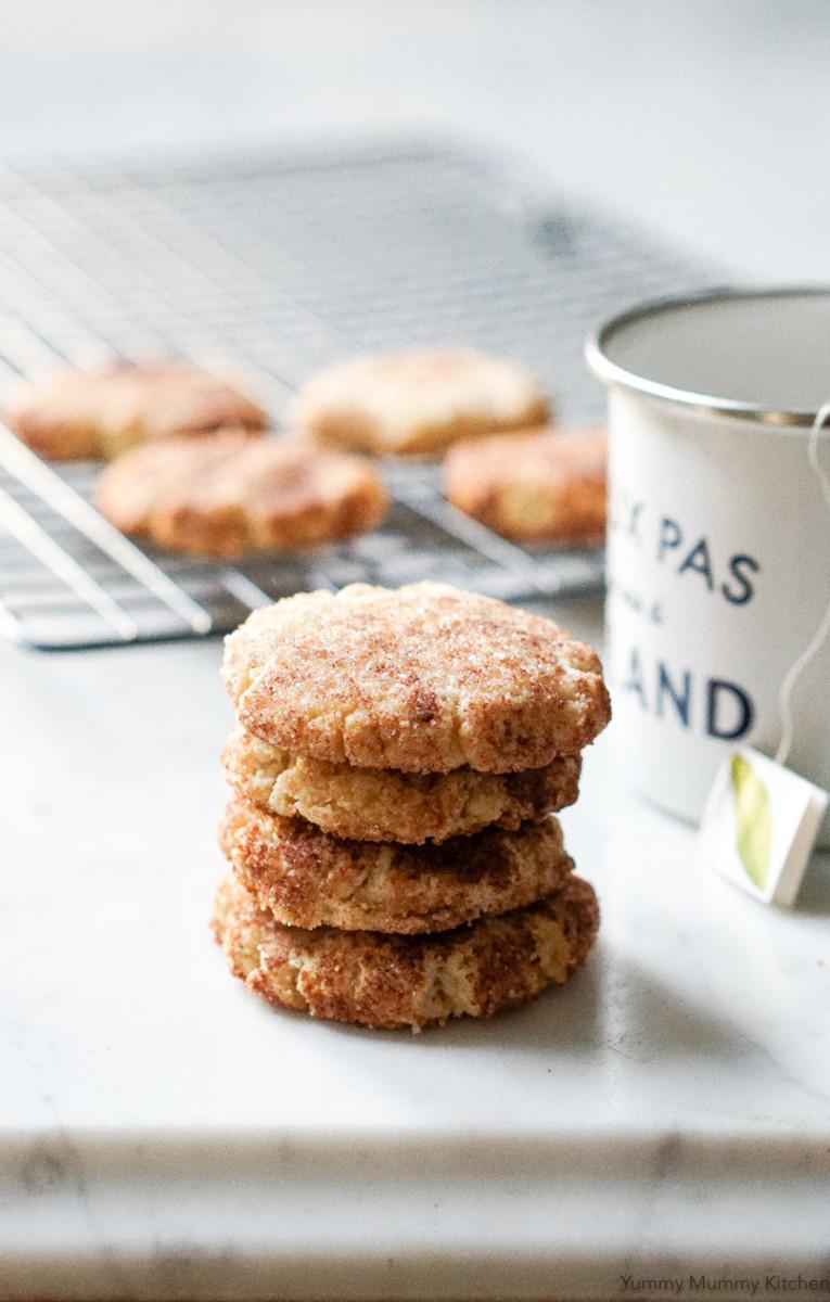 Almond-Flour Snickerdoodles