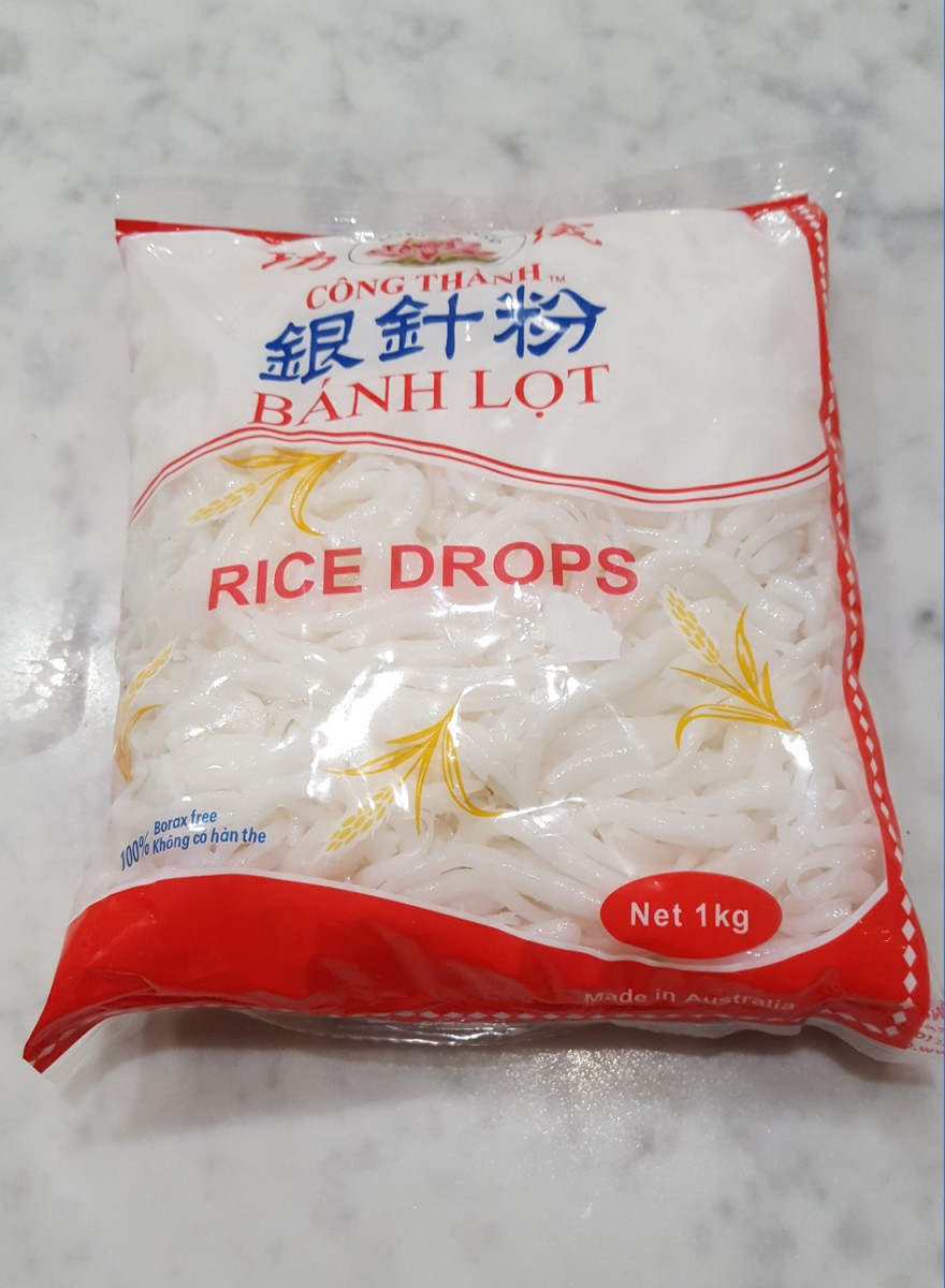 Packet of Rice Drop Noodles