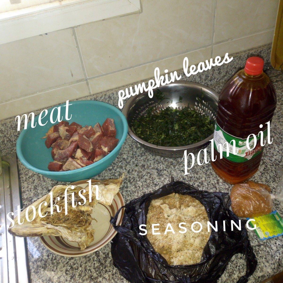 Some of the ingredients.