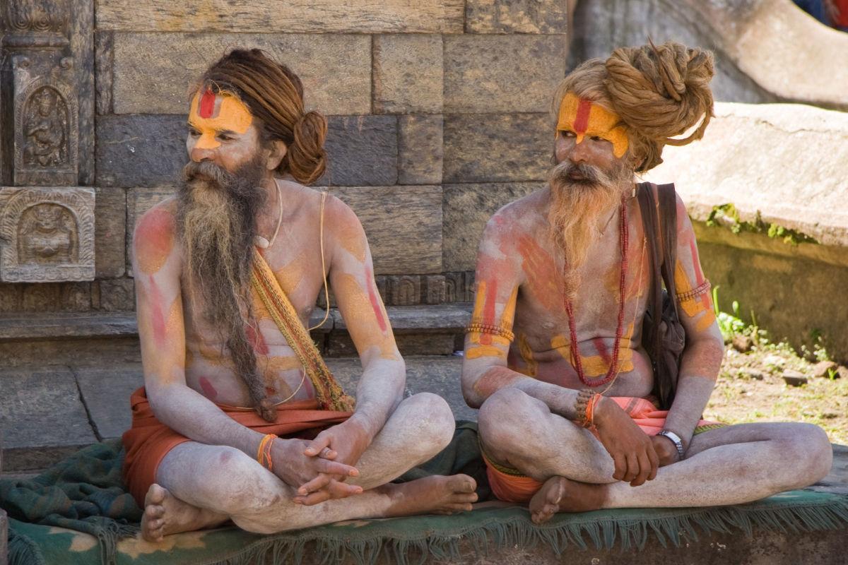 Two Sadhus, Hindu Hermits