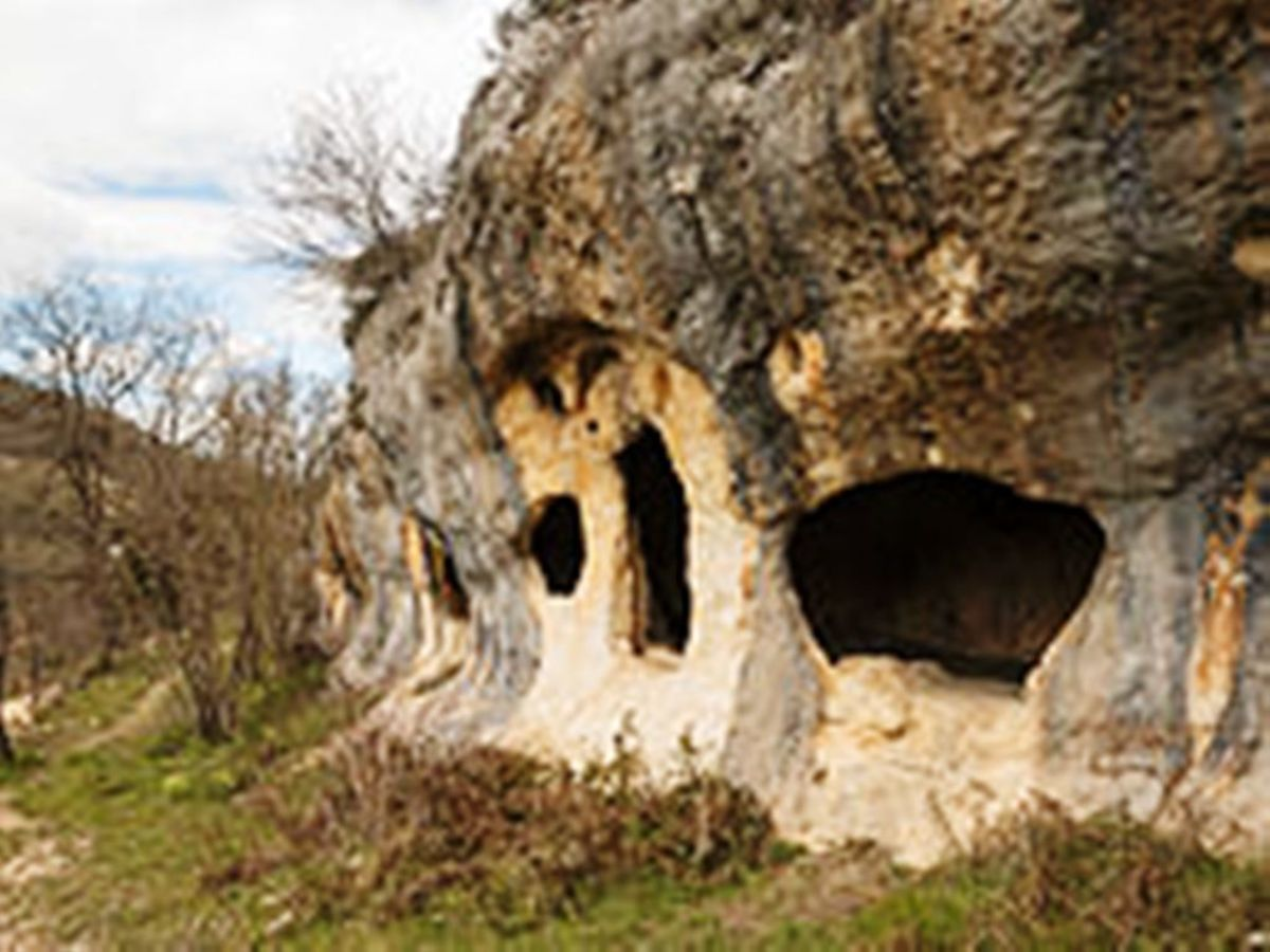 A hermits' residence in Spain.