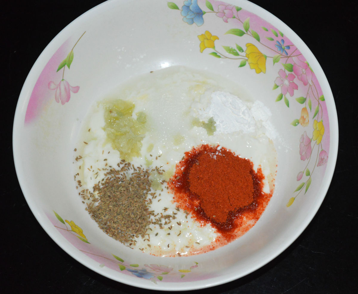 Step 1: Prepare marinade as per instructions.