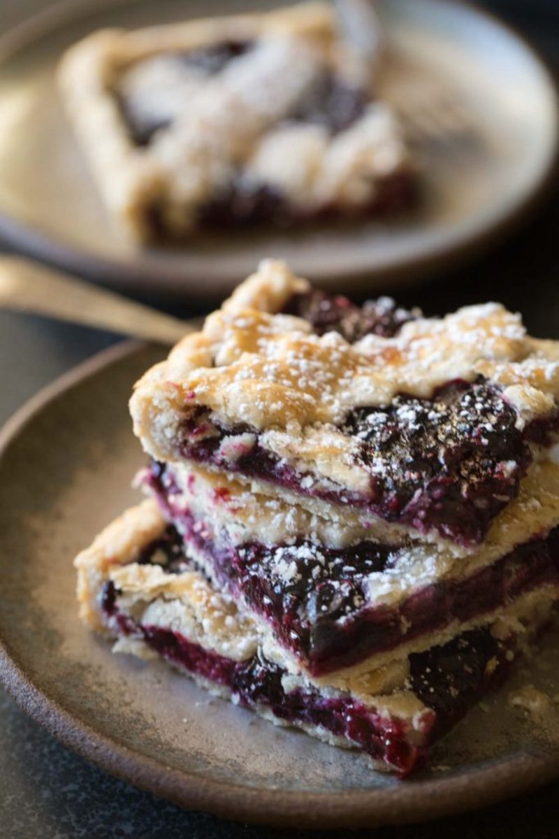 Triple-Berry Pie