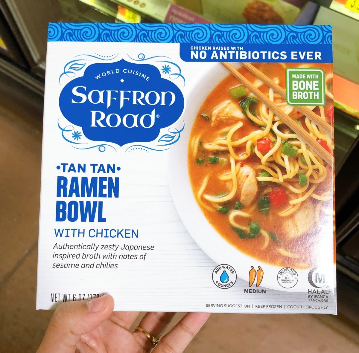 The ramen bowl.