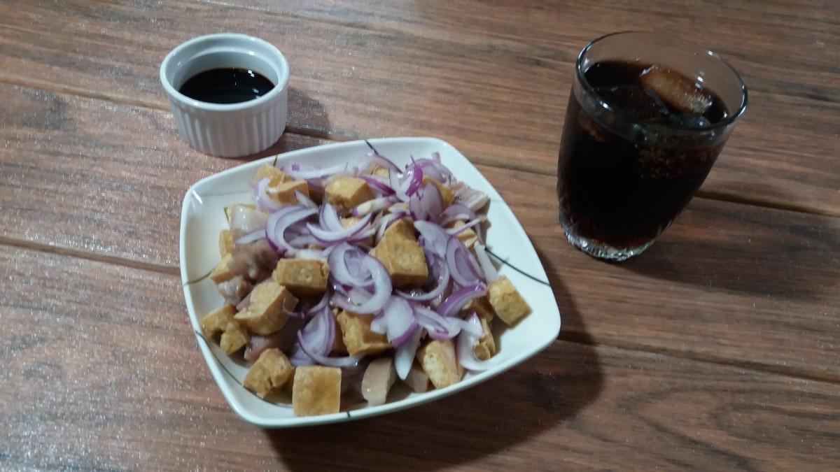 Tofu and pork recipe