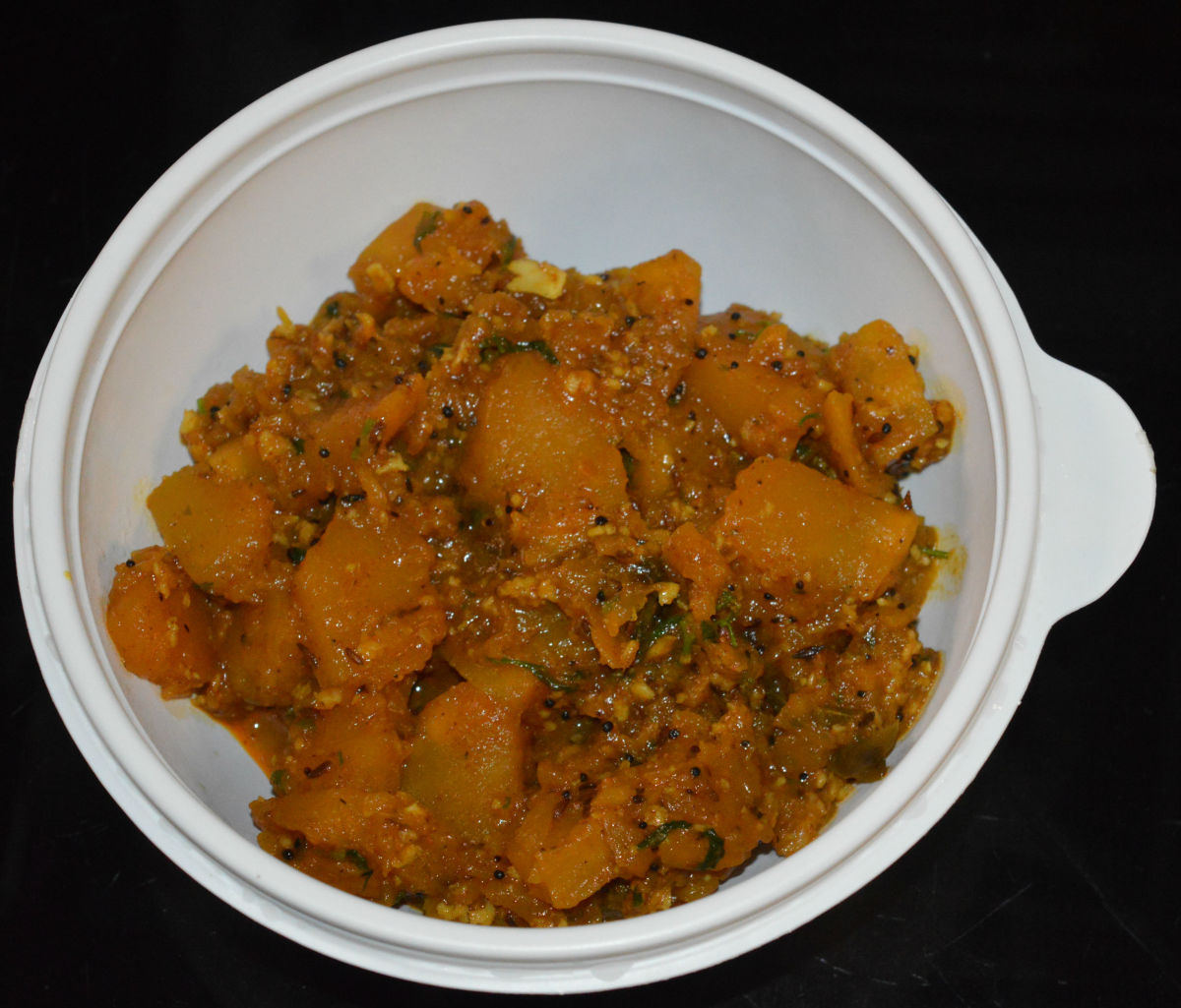 Transfer it to a serving bowl. Serve it with Indian flatbread or steamed rice. Enjoy the combo!