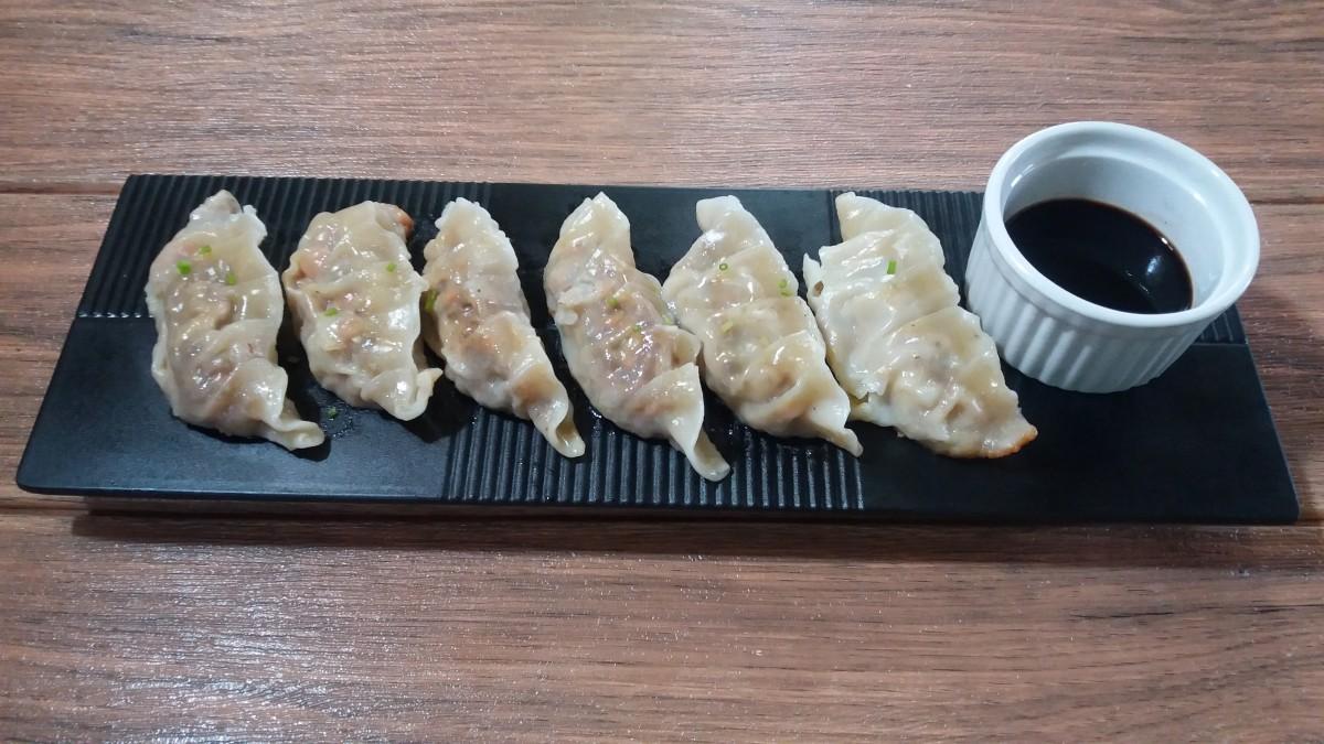 Sardine dumplings