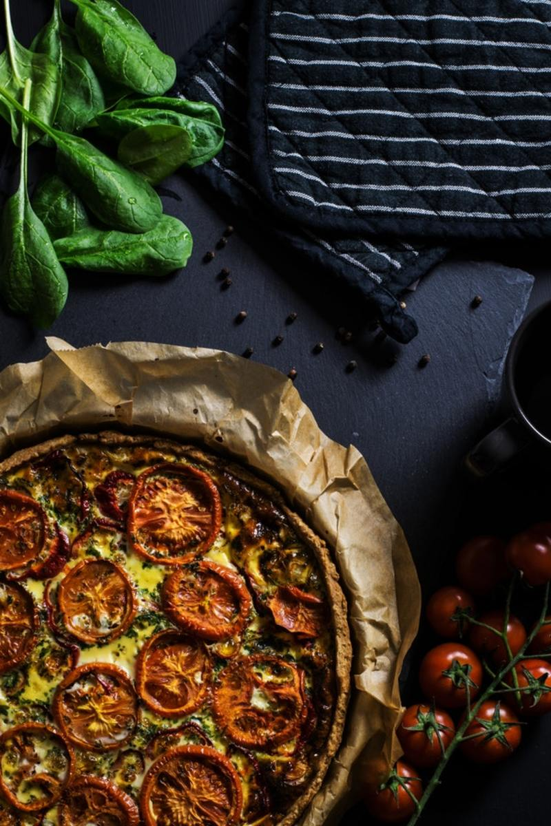 Give your fall gathering a rustic twist with this tomato galette.