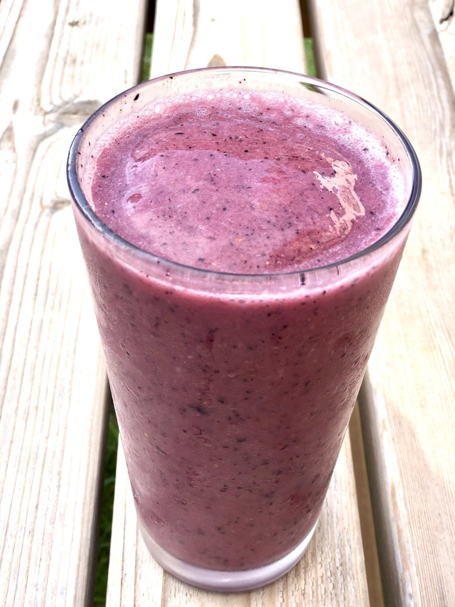 Berry Banana Breakfast Smoothie