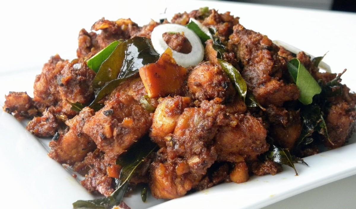 Pork fry (Kerala)