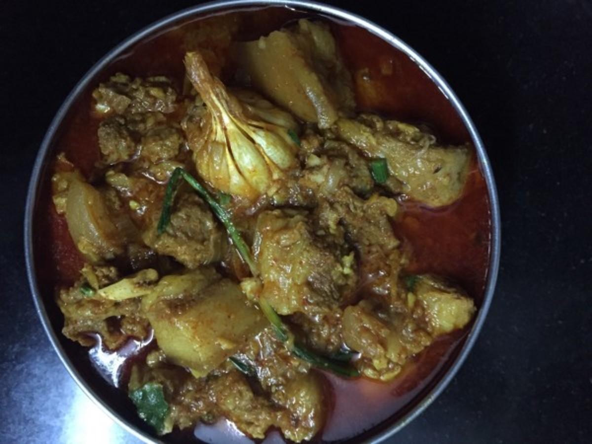 Classic manipuri pork curry (Manipur)