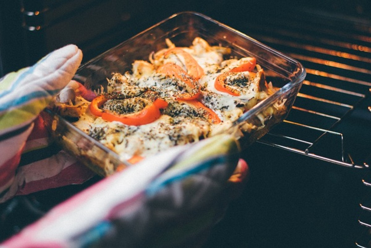 The oven is a great option for reheating leftovers, as well.