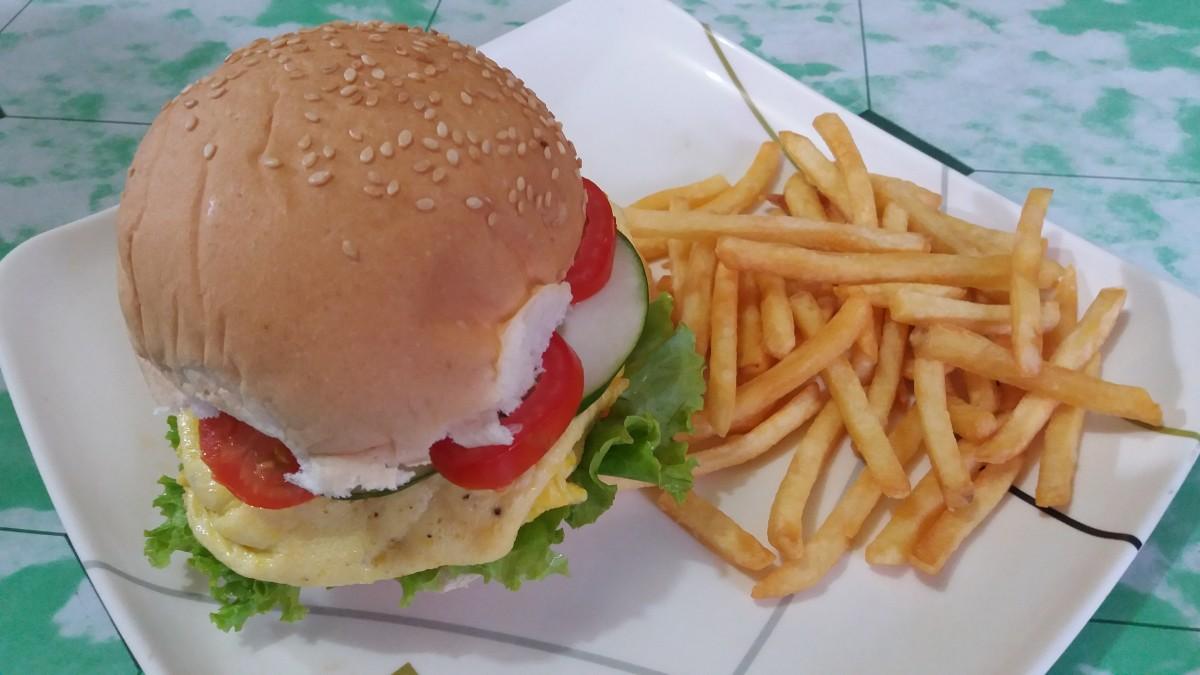 Kuala Lumpur Ramly Burger
