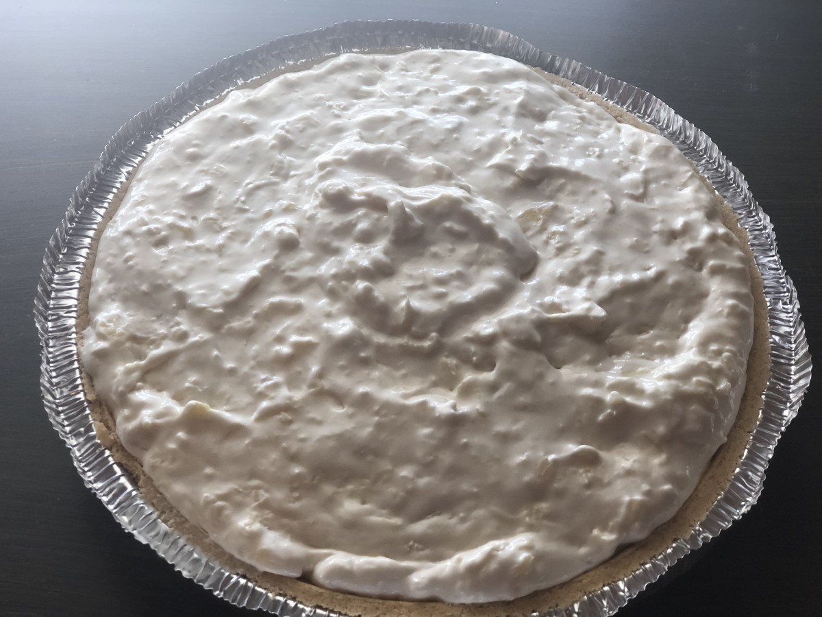 In our house, it isn't Thanksgiving without millionaire pie!