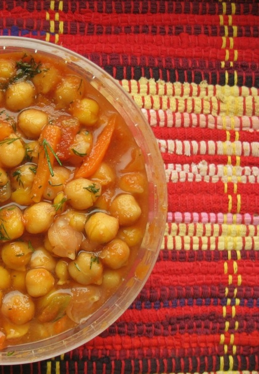 Carb Diva's Moroccan Chickpea Soup