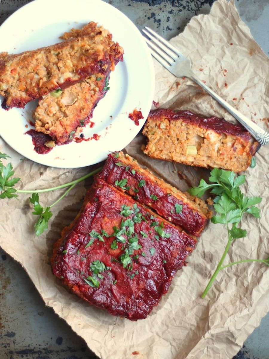 Chickpea Vegan Meatloaf