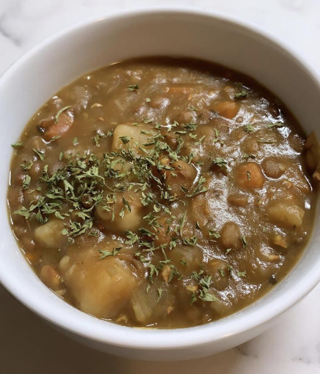 Plant-Based Lentil Stew