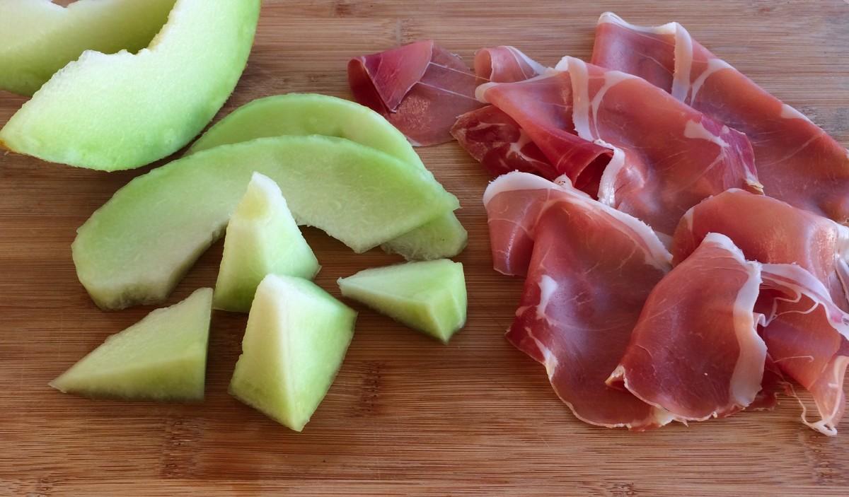 Presunto and Honeydew Melon