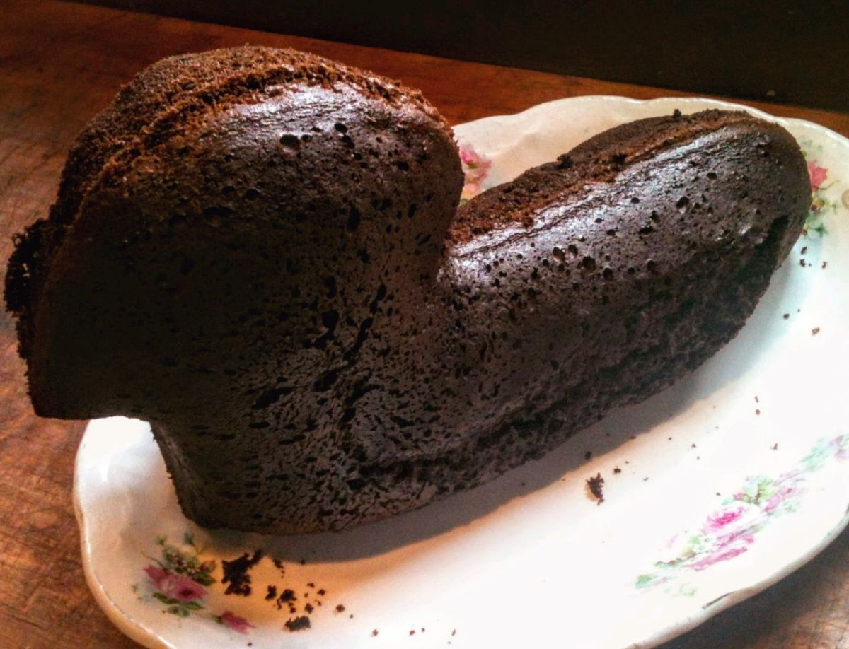 Cracks or imperfections on the surface of the cake may develop from a too-hot baking temperature. These can be covered by frosting, but it does mean the cake will be fragile.