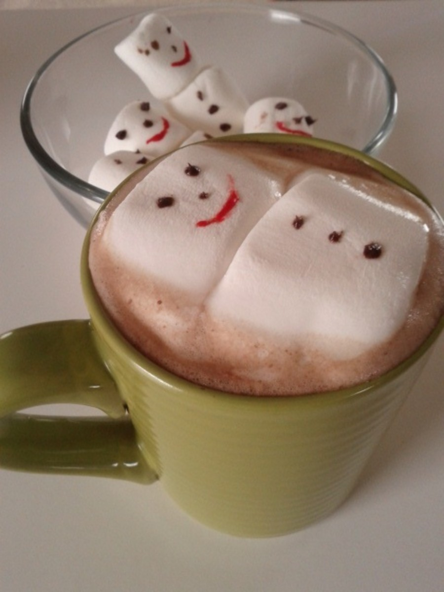 Melting Snowman Ho tchocolate