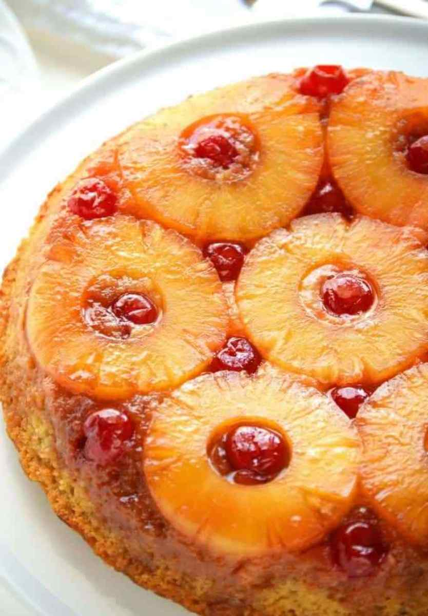 Gluten-Free Pineapple Upside-Down Cake
