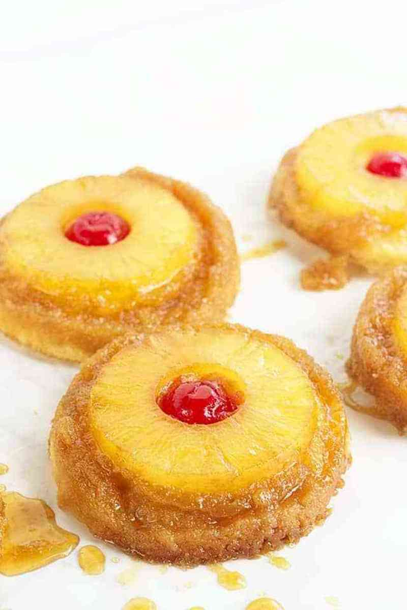 Pineapple Upside-Down Cake Sugar Cookies