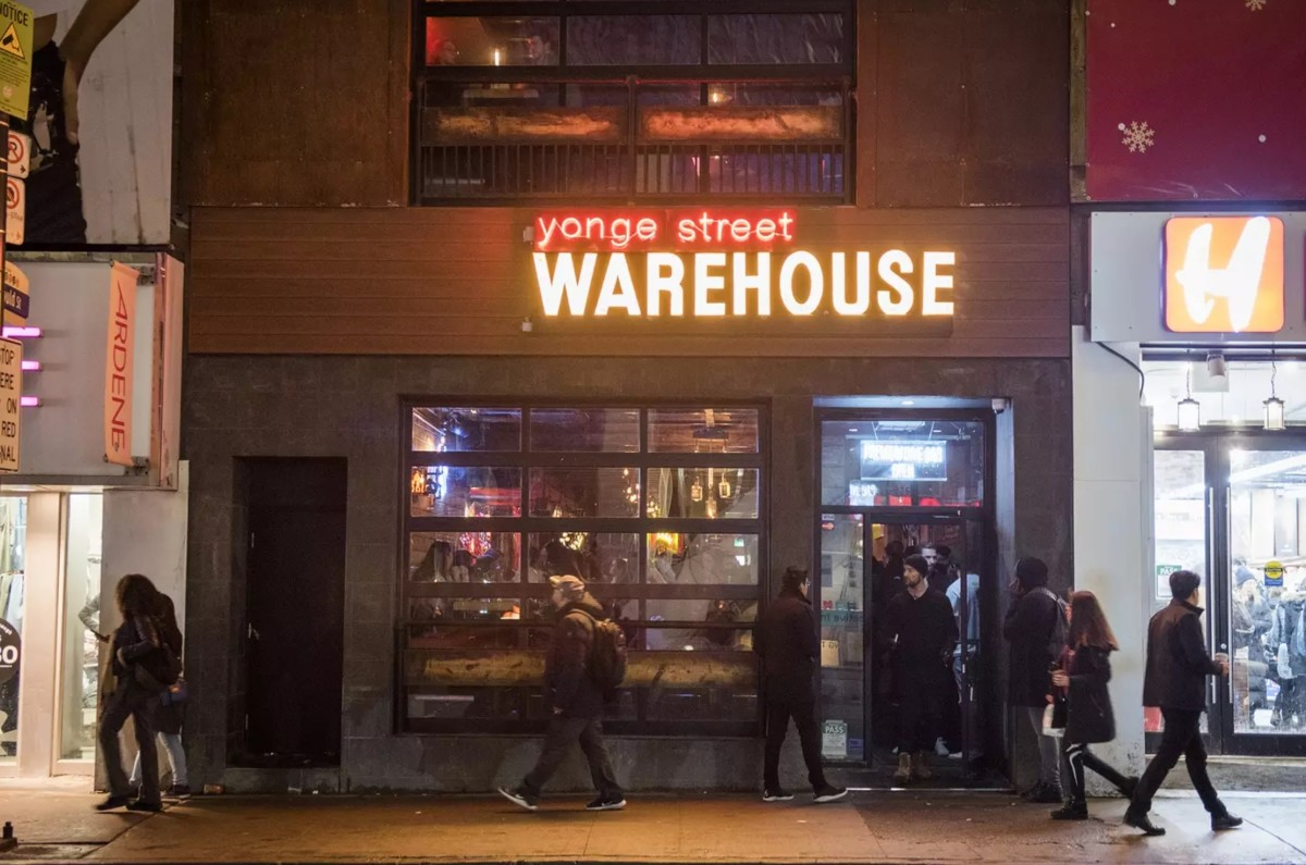 The Warehouse, 336 Yonge St, Toronto